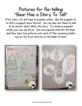 Re-telling Props for Bear Has a Story to Tell