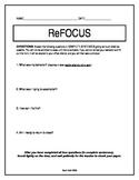 ReFOCUS Classroom Management Tool