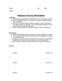 ReQuest Activity Worksheet for Literacy