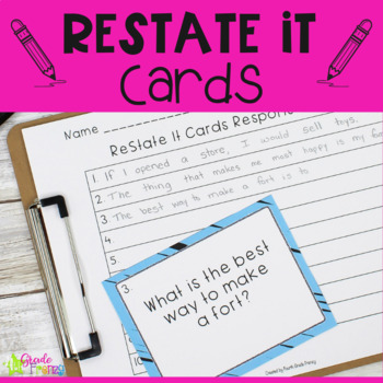 ReState It Cards
