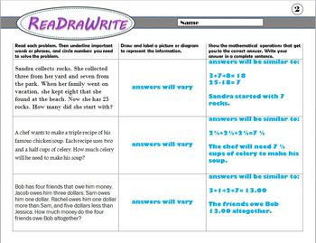 ReaDraWrite: Model and Draw to Solve Multi-Step Word Problems