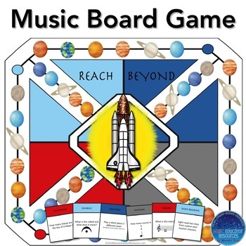 Reach Beyond the Stars Music Board Game