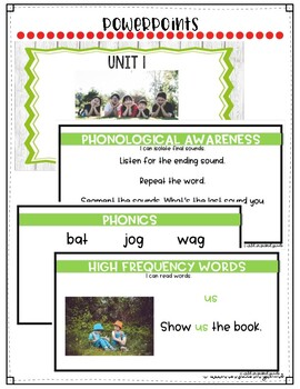 Reach For Reading FlipCharts for First Grade Unit 1 Week 4