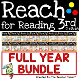 Reach For Reading 3rd Grade Full Year Bundle | National Geographic Printables