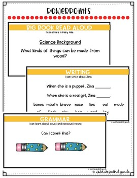Reach For Reading Flip Charts for First Grade Unit 2 Week 3