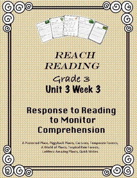 Reach For Reading National Geographic Grade 3 Unit 3 Week 3