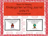 Reach For Reading Writing Journals Kindergarten BUNDLE