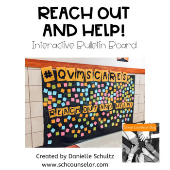 Reach Out and Help! Interactive Bulletin Board with Sticky Notes