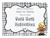 Nat Geo Reach for Reading Word Work Activities (Unit 1)