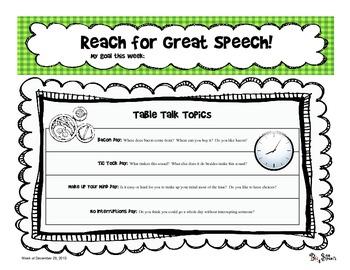 Reach for Great Speech (Table Talk) - Dec 2013