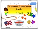Reach for Reading 2nd Grade Big Question Bulletin Boards Units 1 - 8