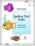 Reach for Reading National Geographic 2nd Grade Spelling T