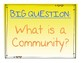 Reach for Reading 2nd Grade Unit 1 Big Question Bulletin Board