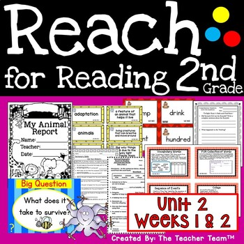 Reach for Reading 2nd Grade Unit 2 Part 1 | National Geographic Printables
