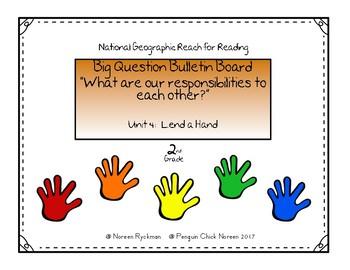 Reach for Reading 2nd Grade Unit 4 Big Question Bulletin Board