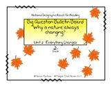 Reach for Reading 2nd Grade Unit 5 Big Question Bulletin Board