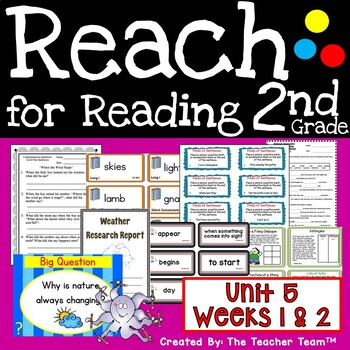 Reach for Reading 2nd Grade Unit 5 Part 1 | National Geographic Printables