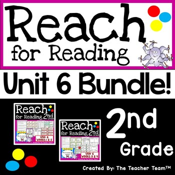 Reach for Reading 2nd Grade Unit 6 Bundle | National Geographic Printables