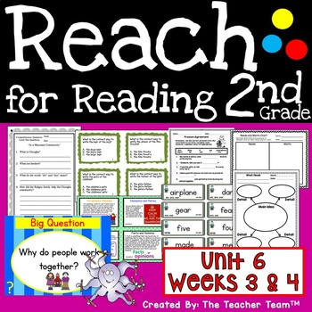 Reach for Reading 2nd Grade Unit 6 Part 2   National Geographic Printables