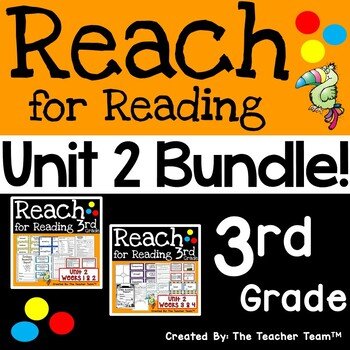 Reach for Reading 3rd Grade Unit 2 Bundle | National Geographic Printables
