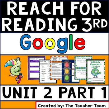 Reach for Reading 3rd Grade Unit 2 Part 1   Google Classroom  Distance Learning