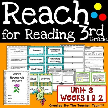 Reach for Reading 3rd Grade Unit 3 Part 1   National Geographic Printables