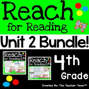 Reach for Reading 4th Grade Unit 2 Bundle | National Geographic Printables
