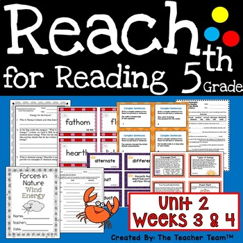 Reach for Reading 5th Grade Unit 2 Part 2 | National Geographic Printables
