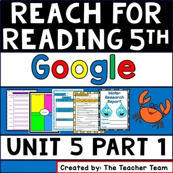 Reach for Reading 5th Grade Unit 5 Part 1 | National Geographic Google Resource