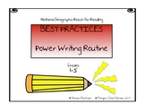 Reach for Reading National Geographic Best Practices Power