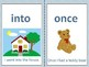 Reach for Reading Units 5-8  Sight Word Flash Card with Sentence 1st grade