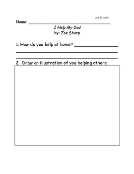 Reach for Reading Grade 1: Leveled Readers comprehension questions Unit 1
