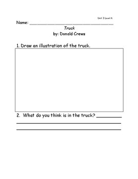 Reach for Reading Grade 1: Leveled Readers comprehension questions Unit 3