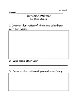 Reach for Reading Grade 1: Leveled Readers comprehension questions Unit 4