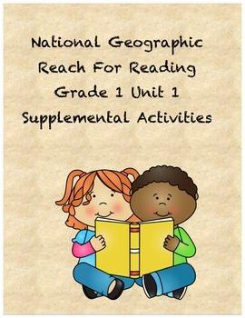 Reach for Reading Grade 1 Unit 1 supplemental activities