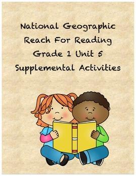 Reach for Reading Grade 1 Unit 5 supplemental activities