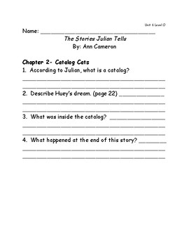 Reach for Reading Grade 2: Leveled Readers comprehension questions Unit 6