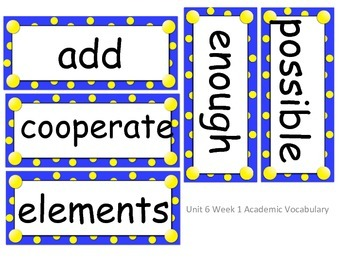 Reach for Reading Grade 2 Unit 6 objectives