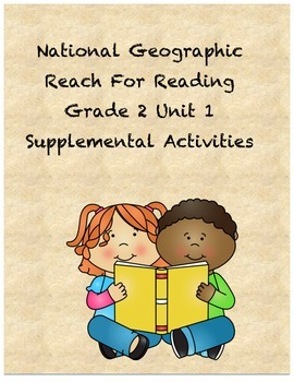 Reach for Reading Grade 2 Units 1-8 supplemental activities