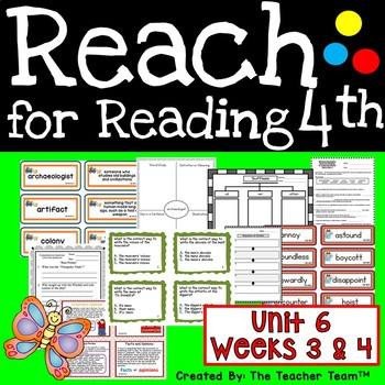 Reach for Reading Grade 4 | Reach for Reading 4th Grade | Unit 6 Part 2