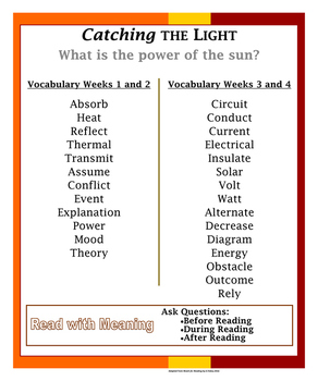 Reach for Reading- Grade 5 Anchor Charts