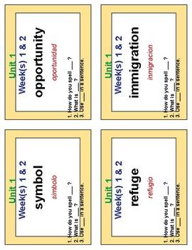 Reach for Reading Grade 5 Fan 'n Pick Cards