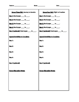 Reach for Reading Grade 5 Small Group Reading Organization- Unit 1 BUNDLE
