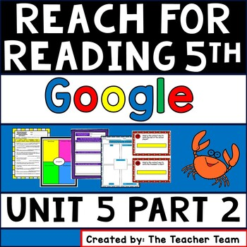 Reach for Reading Grade 5 ~ Unit 5 Weeks 3 and 4 Activities for Google Classroom