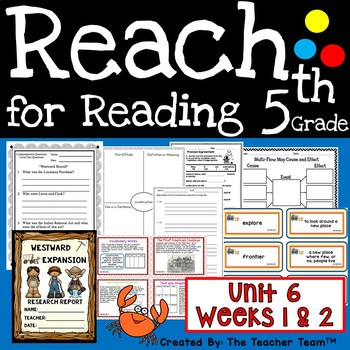 Reach for Reading 5th Grade Unit 6 Part 1 | National Geographic Printables