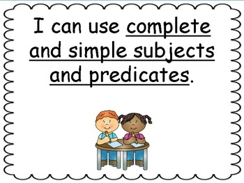 Reach for Reading Grade 5 objectives (I can statements)