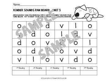 Reach for Reading KINDER SOUNDS Fully Aligned Kindergarten PHONICS Bundle