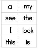 Reach for Reading Kindergarten Sight Words for Word Wall