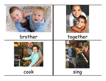 Reach for Reading Kindergarten Unit 2 Vocabulary Cards
