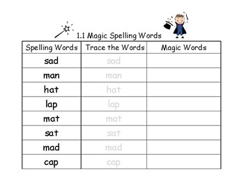 National Geographic Reach for Reading Magic Spelling Words